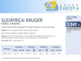 SUDÁFRICA: KRUGER