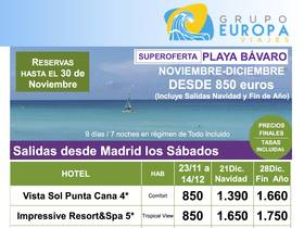 SUPEROFERTA PLAYA BAVARO