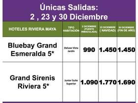 SUPER OFERTA RIVIERA MAYA DICIEMBRE!!!